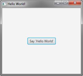 《从零开始学习JavaFX (1)Hello World》