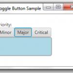 从零开始学习JavaFX(9) 控件篇之ToggleButton