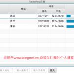 从零开始学习JavaFX(16) 控件篇之TableView(3)