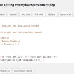 WordPress twentyfourteen主题隐藏特色图片