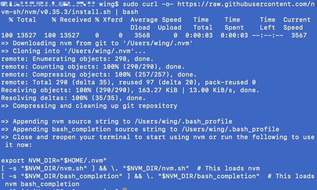 《mac下无法下载安装nvm的问题》